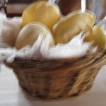 cute little puffy bread basket