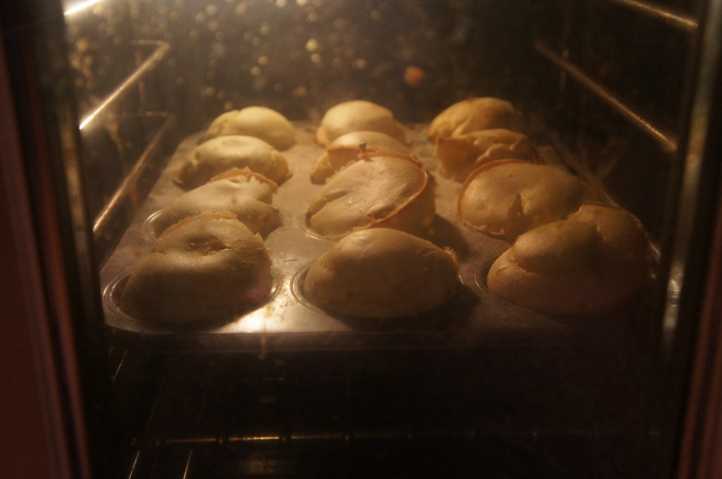 popovers in oven